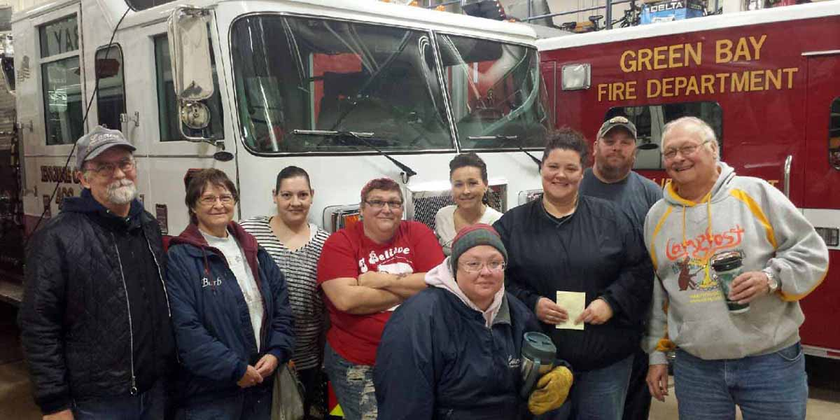 Lamers employees fire safety training