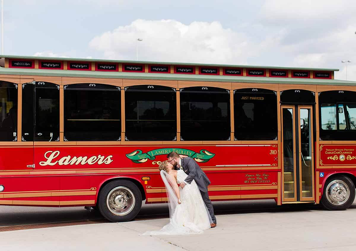 Lamers Bus Lines, Inc. wedding transportation
