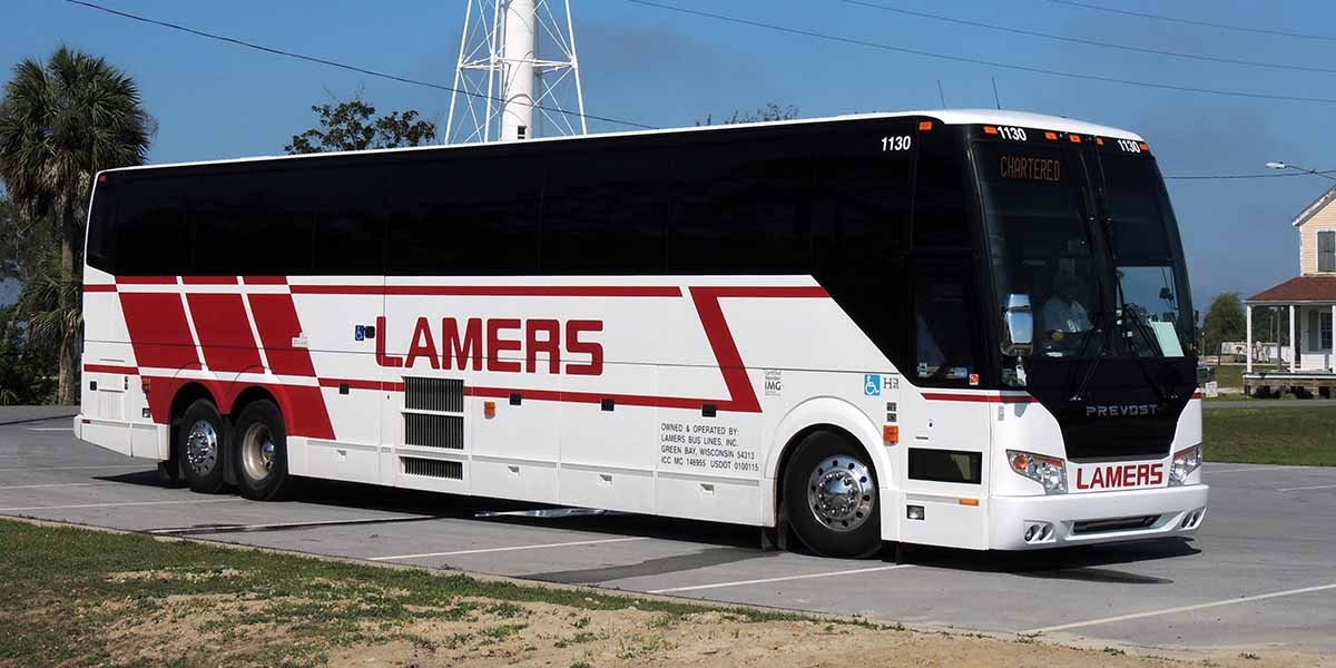 Lamers Bus Lines Receives Zero Violations on Safety Audit