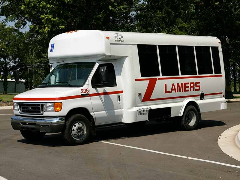 Lamers Bus Lines, Inc. medical transportation van