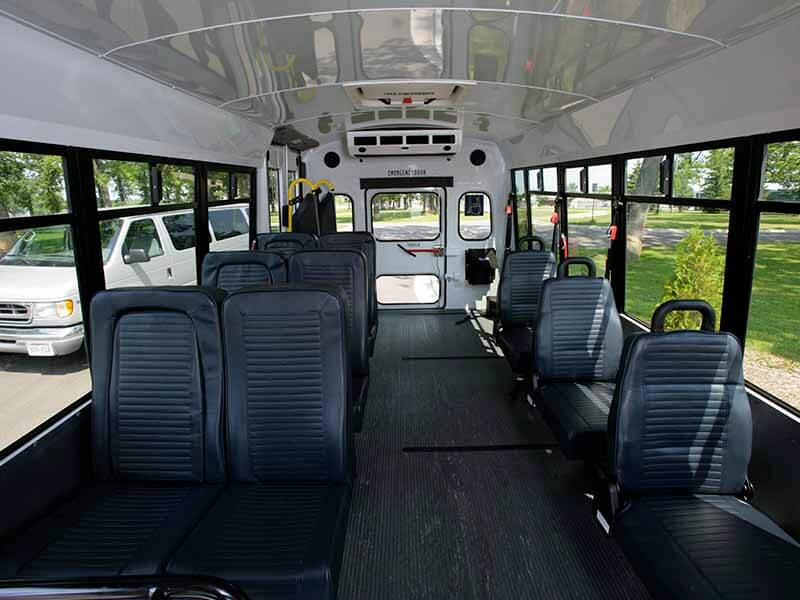 Lamers Bus Lines, Inc. medical transportation van interior