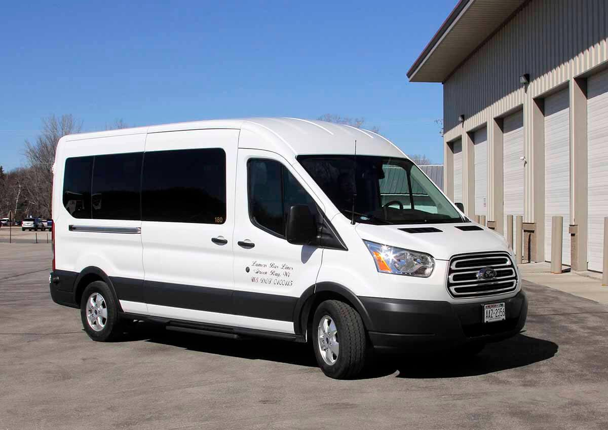 Lamers Bus Lines, Inc. passenger van