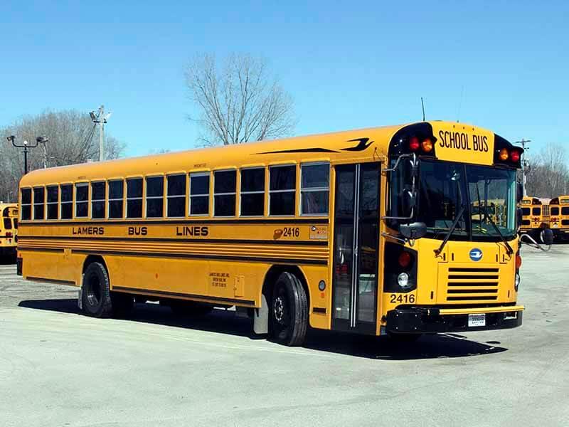 Lamers Bus Lines, Inc. school bus