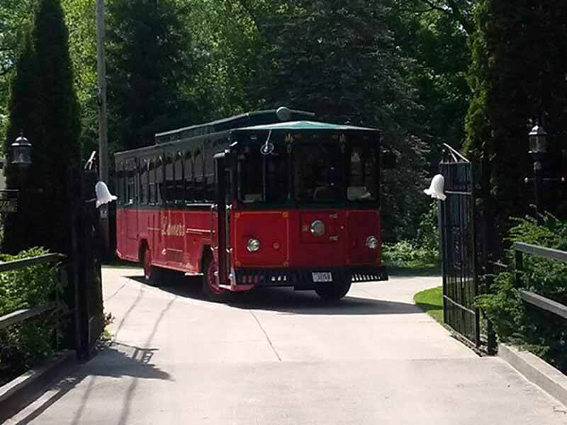 Lamers Bus Lines, Inc. trolley bus