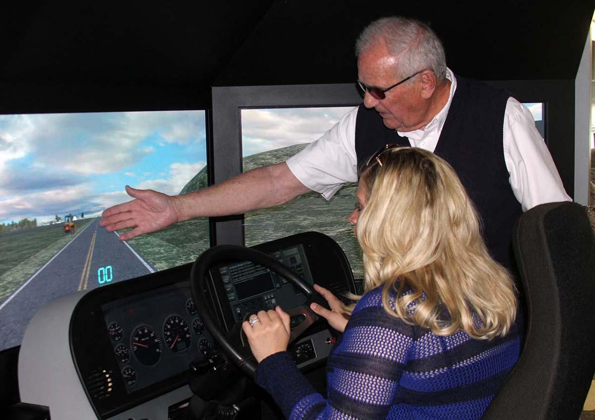 Lamers driving simulator