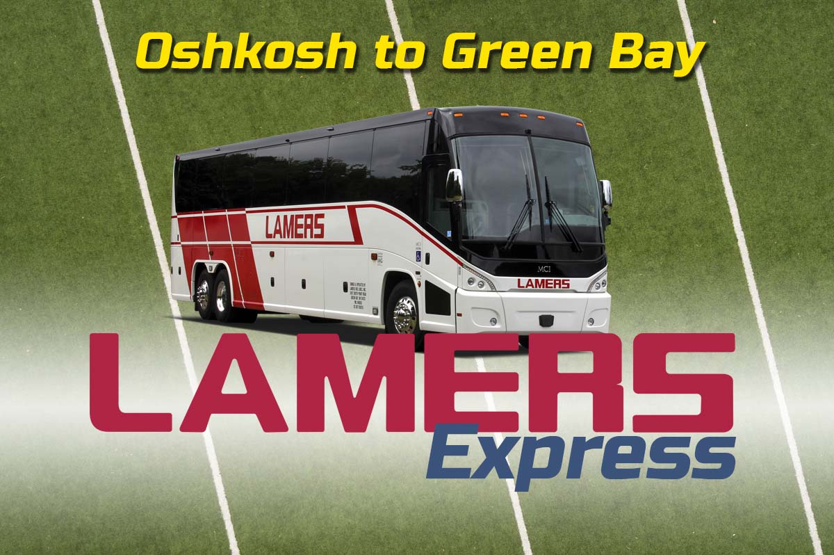 Lamers Express Oshkosh to Green Bay game day routes
