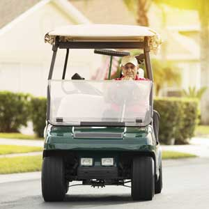 retirement florida golf cart