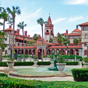 Historic Flagler College in St. Augustine