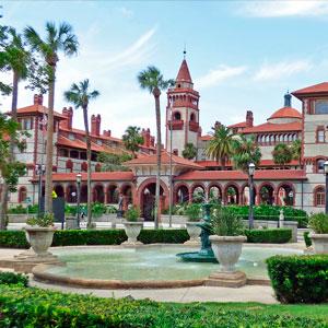 Historic Flagler College in St. Augustine